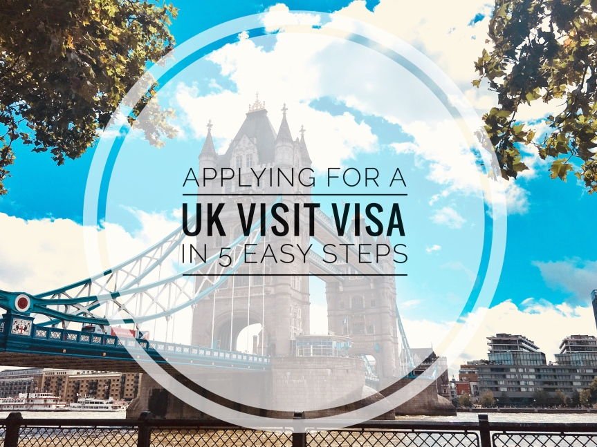 Applying for a UK Visitor Visa in 5 Easy Steps