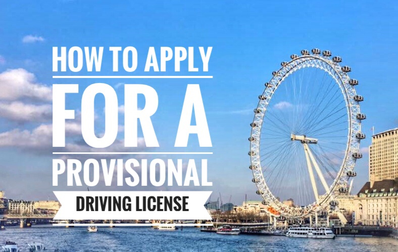 How I Got my Provisional Driving License in the UK through the Online Application